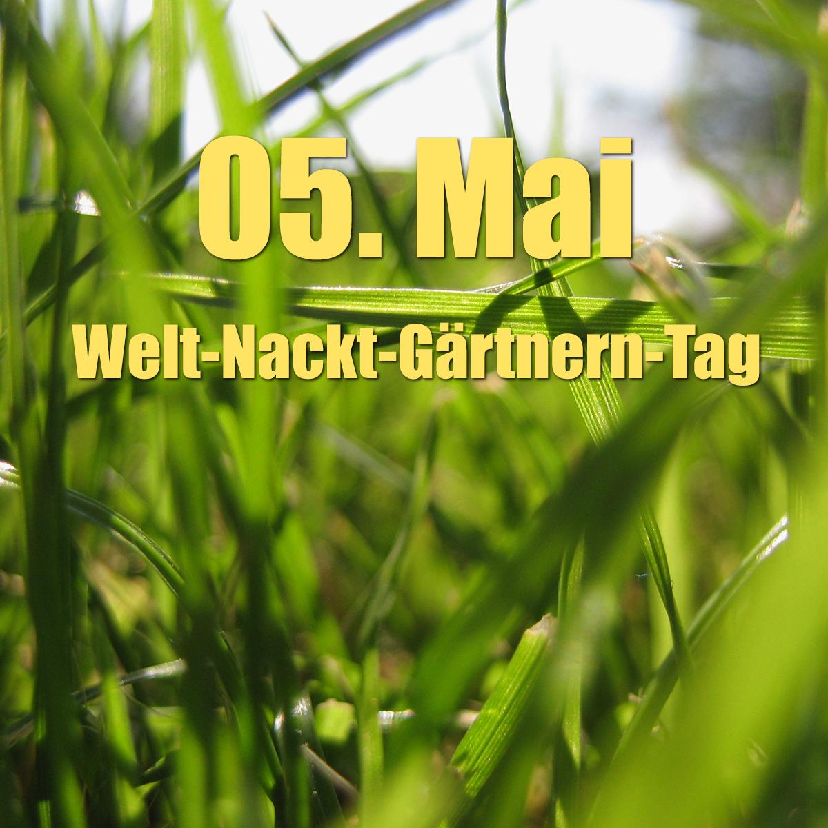 Welt-Nackt-Gärtnern-Tag