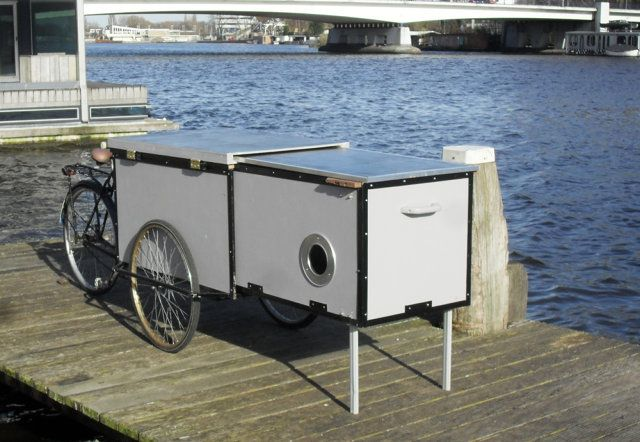 This Cargo Bike Hides A Tiny Homeless Shelter