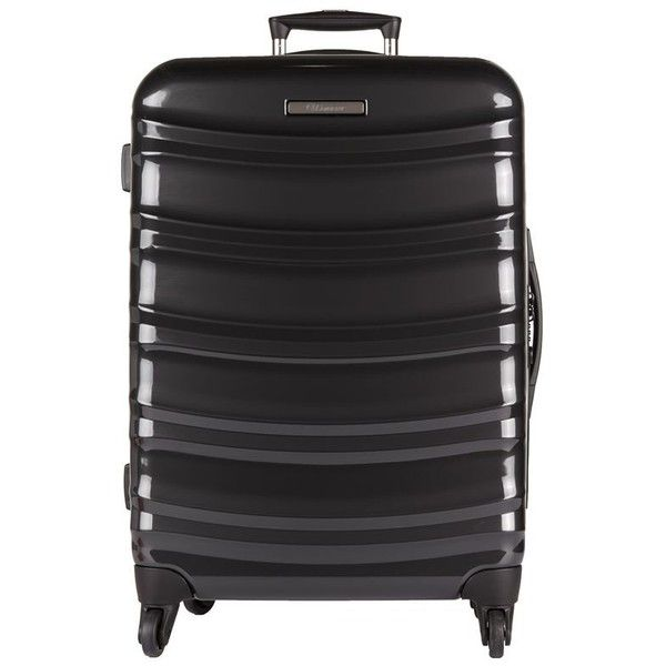 Eminent Line Light Spinner Suitcase (68cm) (€285) ❤ liked on Polyvore featuring bags and luggage