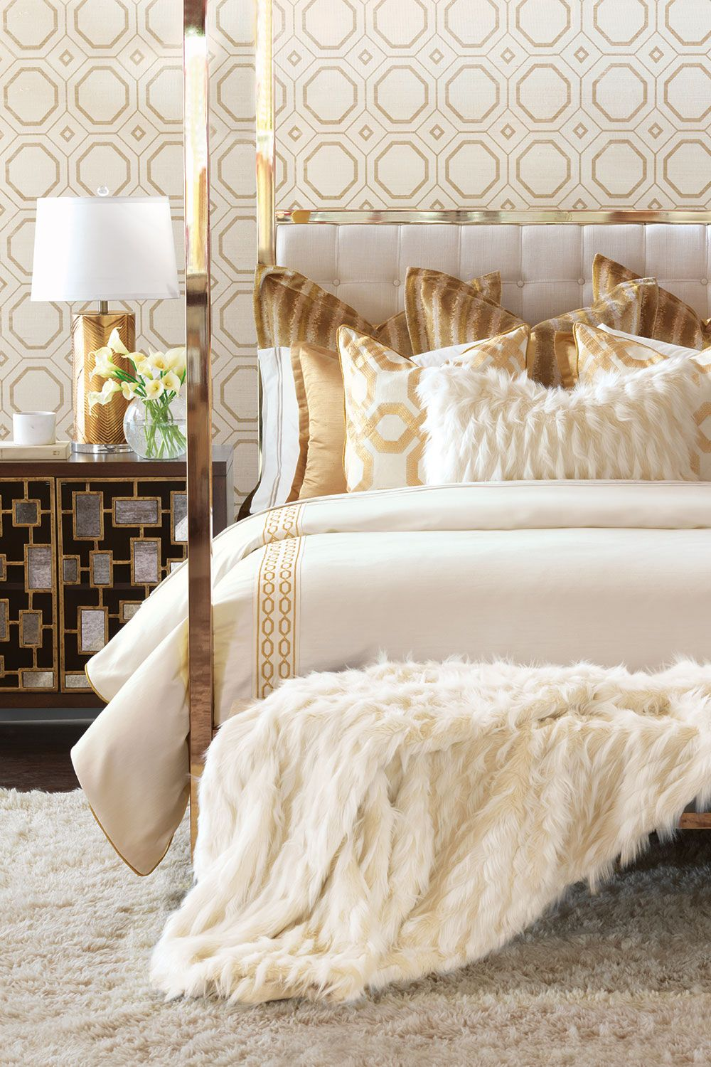 Eastern Accents Bedding Bed linens luxury, Bed, Bed design
