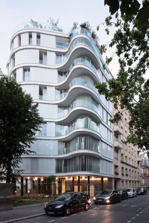 Ensemble immobilier de 14 logements en accession et 24 for Immobilier design paris