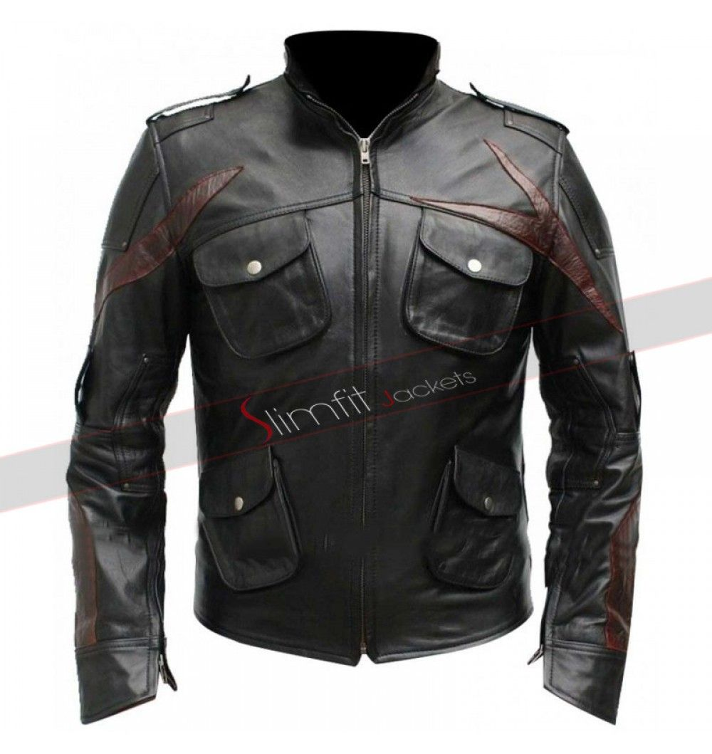 James Heller Prototype 2 New Sgt Leather Jacket Leather Jacket Jackets Black Jacket