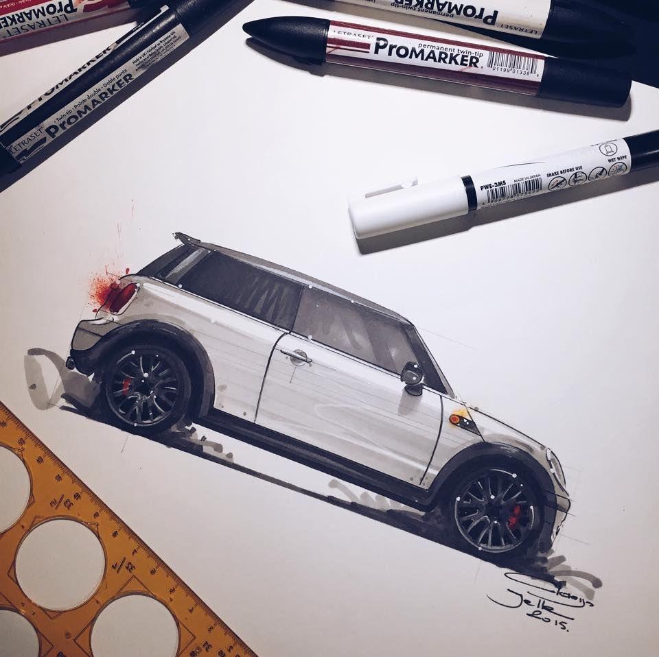 1) Claeys Jelle automotive artwork | Draw! | Pinterest