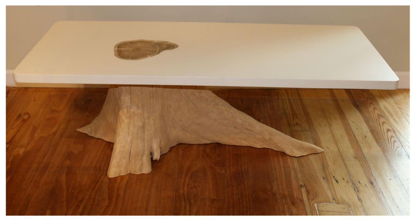 Tree Stump Coffee Table Table Design Ideas furniture