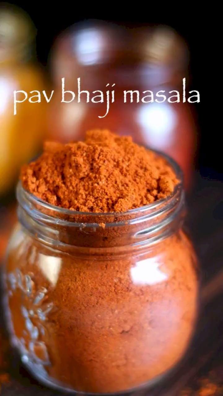 Pav bhaji masala recipe | homemade pav bhaji masala powder - #bhaji #homemade #masala #powder #recipe - #New #indianfood