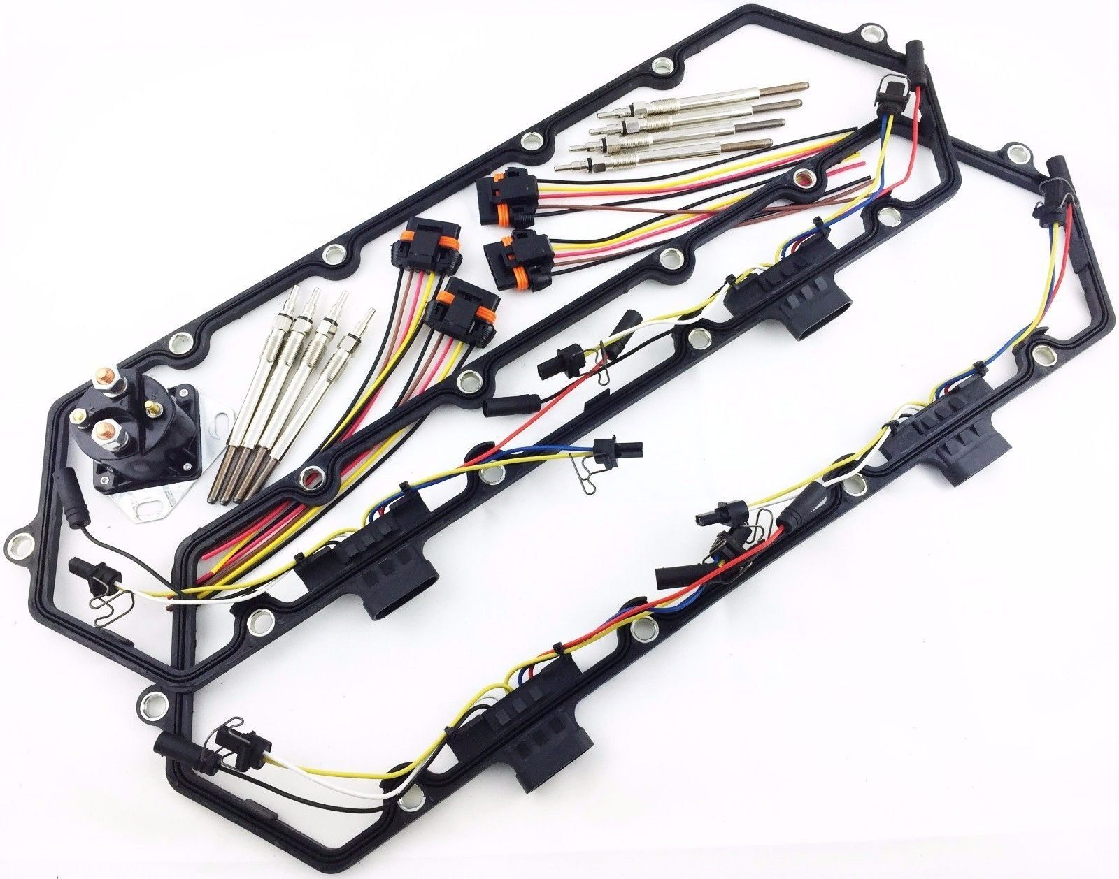small resolution of 94 97 powerstroke ford 7 3l valve cover gaskets injector glow plug relay harness awesome products selected by anna churchill