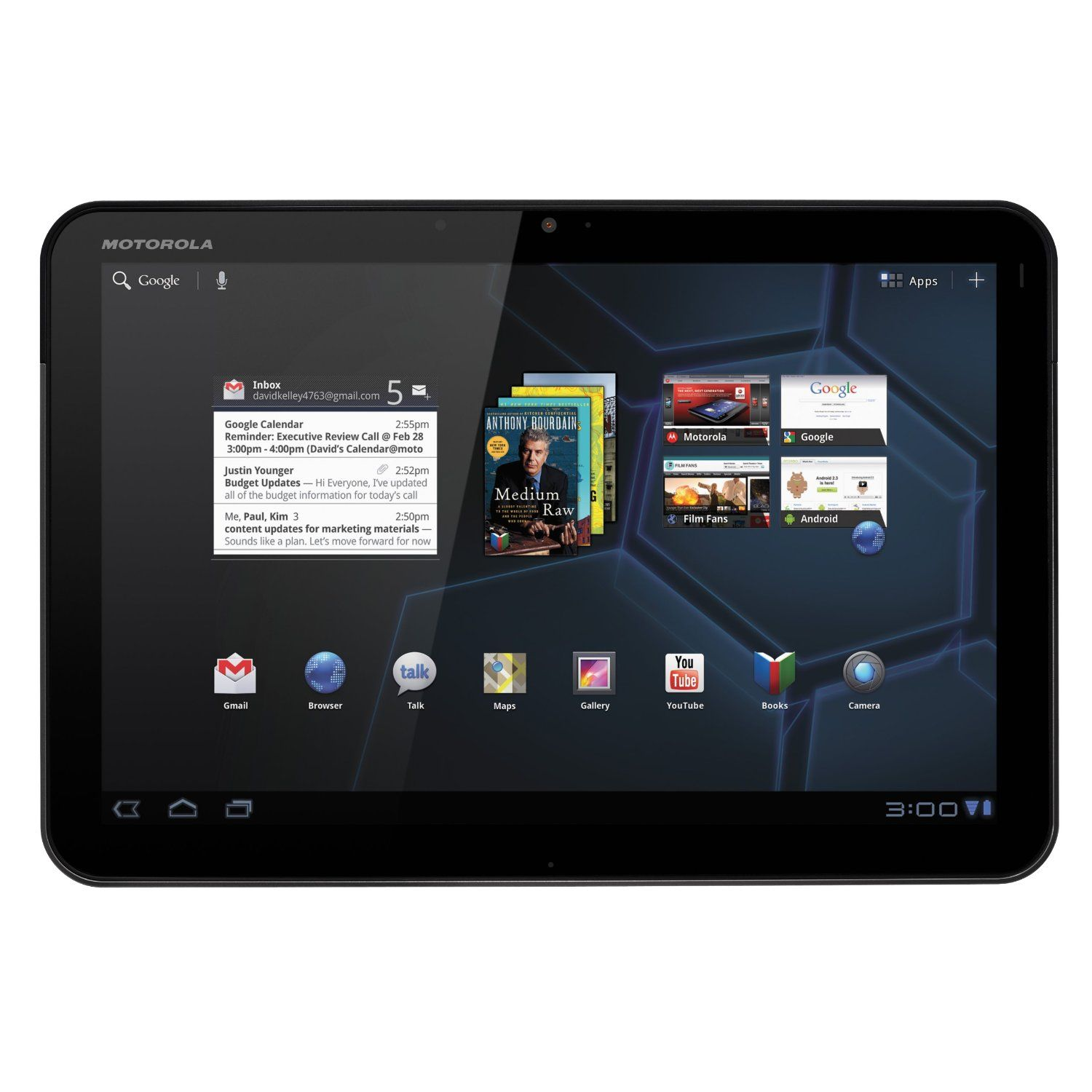 Motorola Xoom Android Tablet 10 1 Inch 32gb Wi Fi Android Tablets Tablet Tablet 10