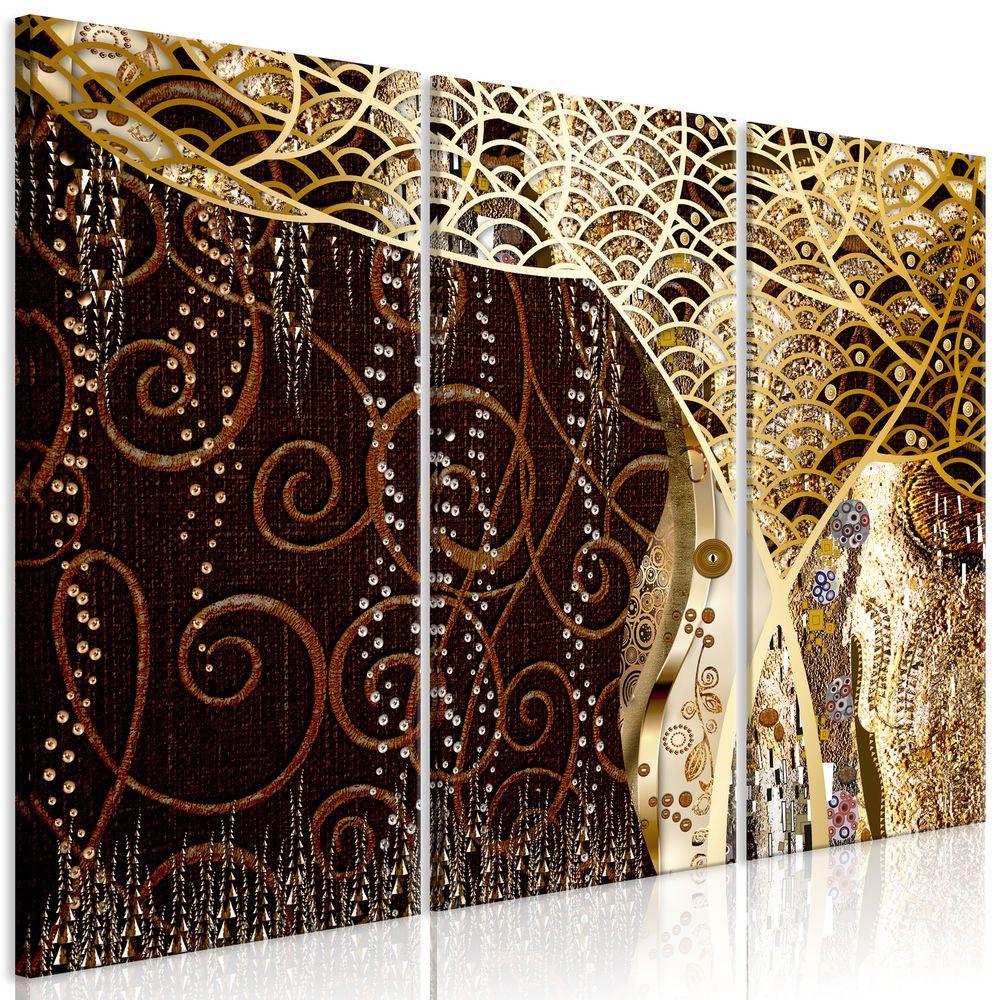 Leinwand Bilder Klimt Gold Baum Diamant Wandbilder Xxl Wohnzimmer Akustikbild Ebay Wandbilder Kunst Bilder Leinwand