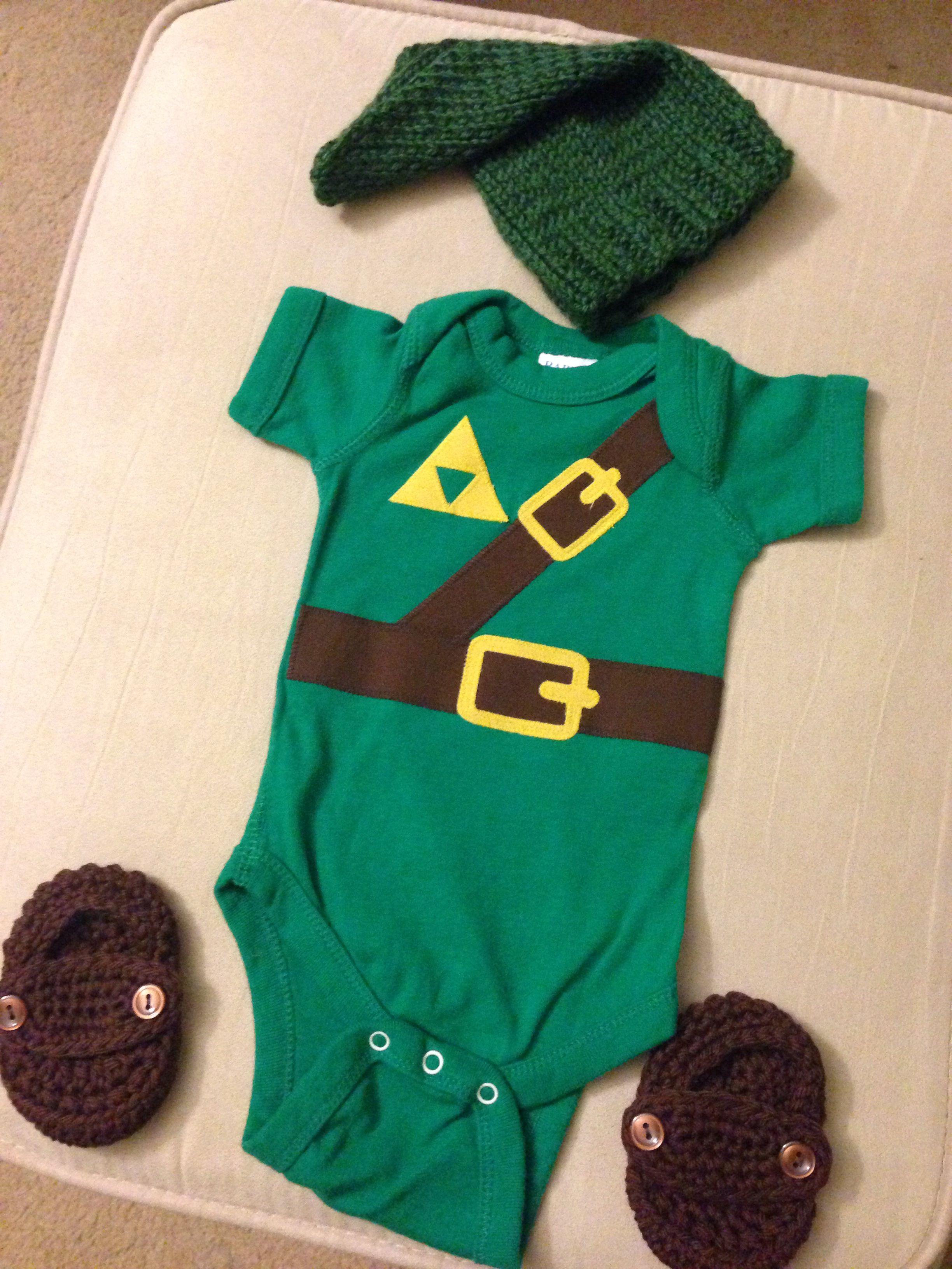 64f84d8c8 Legend of Zelda Baby Link ❤   Baby Bittner   Zelda baby, Baby ...
