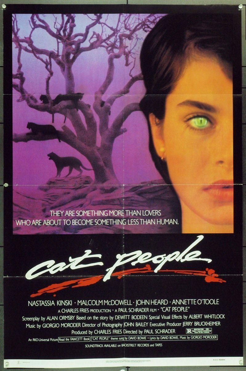 Cat People (1982) Original Movie Poster Cat people