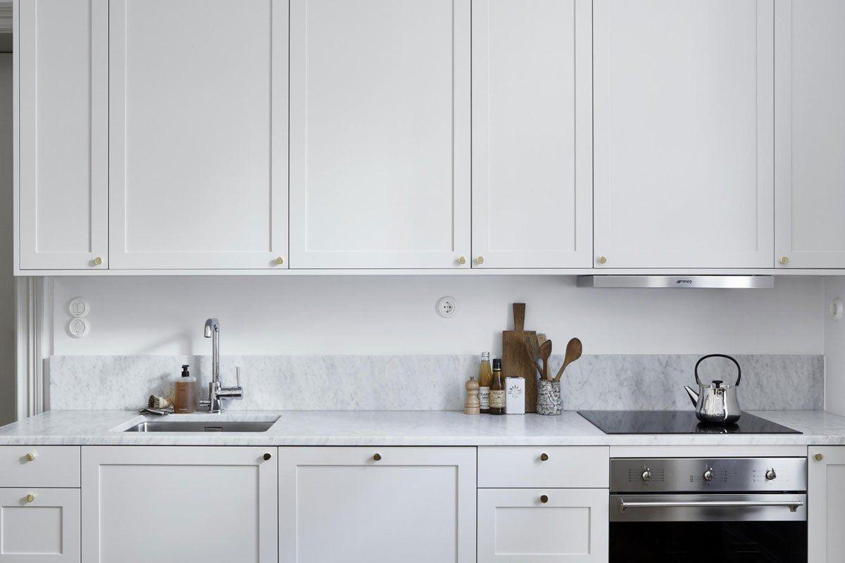 Estudio/apartamento con decoración nórdica elegante en tonos ...