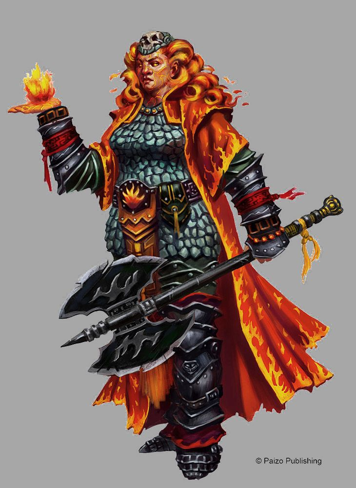 Fire Giant Magmablade from Paizo's Pathfinder RPG Monster ...