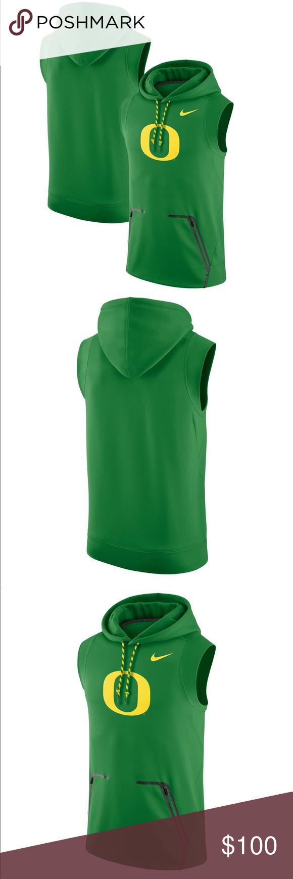 Nike Oregon Ducks Sleeveless Pullover Hoodie Sleeveless Pullover Pullover Sleeveless [ 1740 x 580 Pixel ]