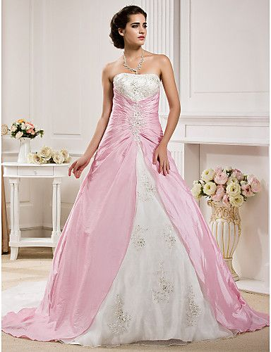 78  images about Pink Wedding dress on Pinterest - Pink gowns- Hot ...
