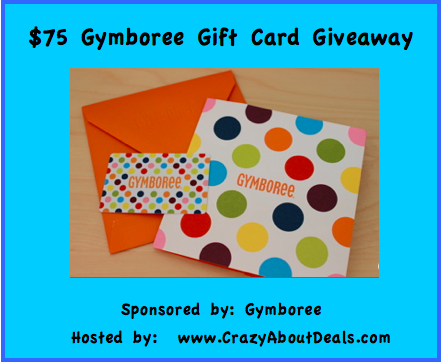$75 Gymboree Gift Card Giveaway ends 4/30
