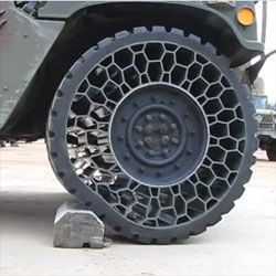 Notcot Non Pneumatic Tire By Resilient Industries