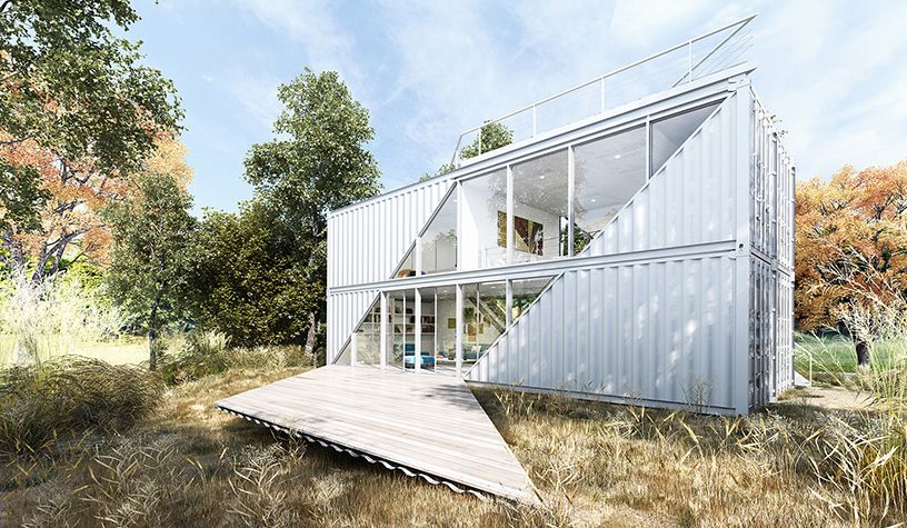 c-Home - LOT-EK Architecture & Design | Container Haus | Pinterest ...