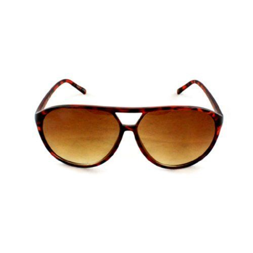 54443609c5 Stylish Shield Sunglasses 7072BNLEOAM Brown Leopard Design in Matte Coating  Plastic with Amber Lenses for Women