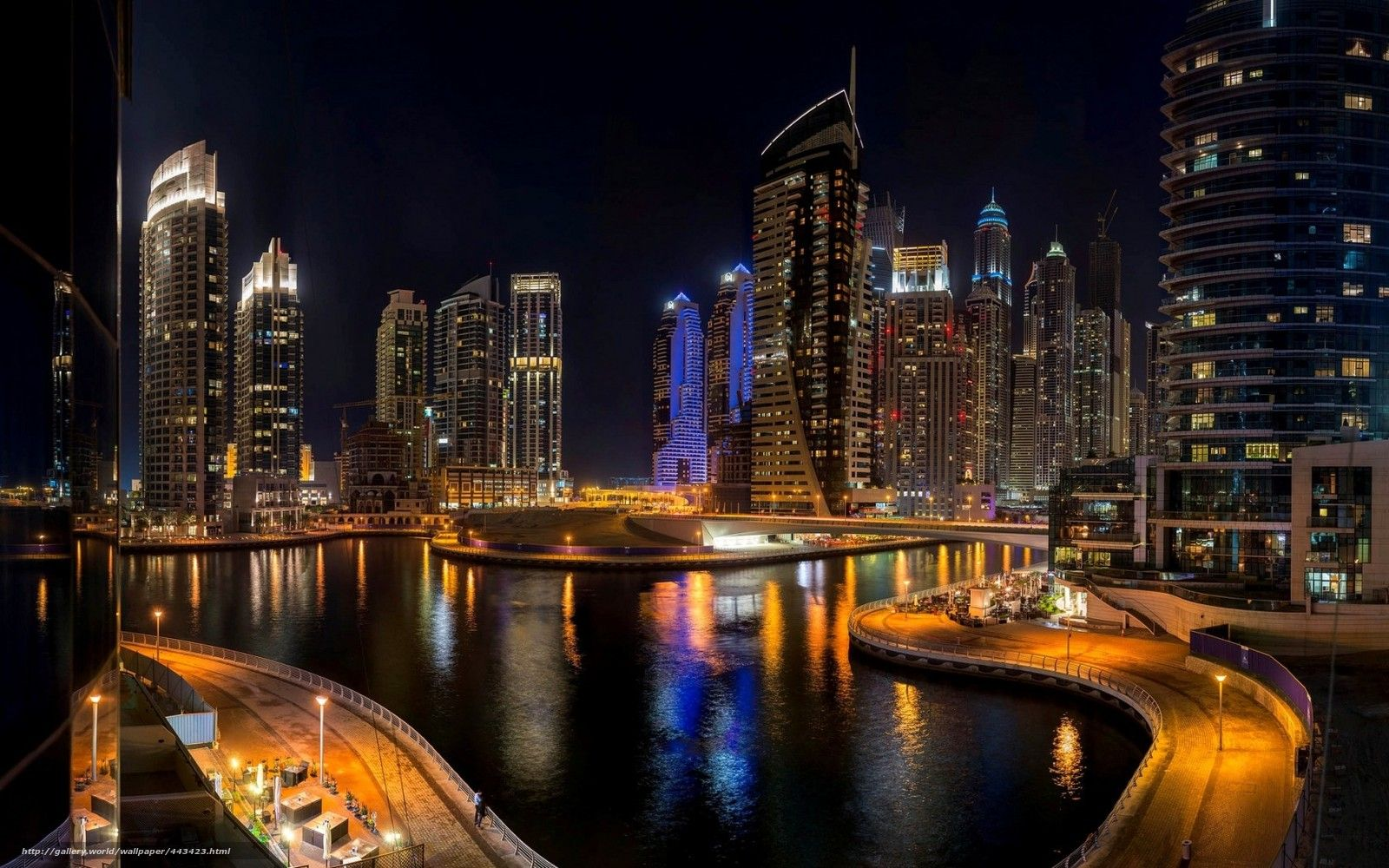 Dubai Night Wallpaper Dubai City Images Dubai City Places Around The World