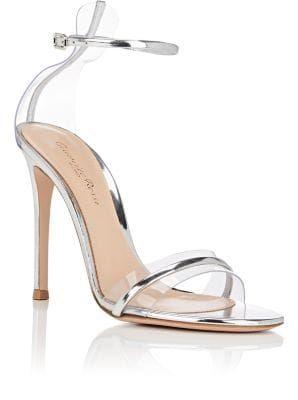 2dc75c8c0 Gianvito Rossi G String Satin   PVC Sandals