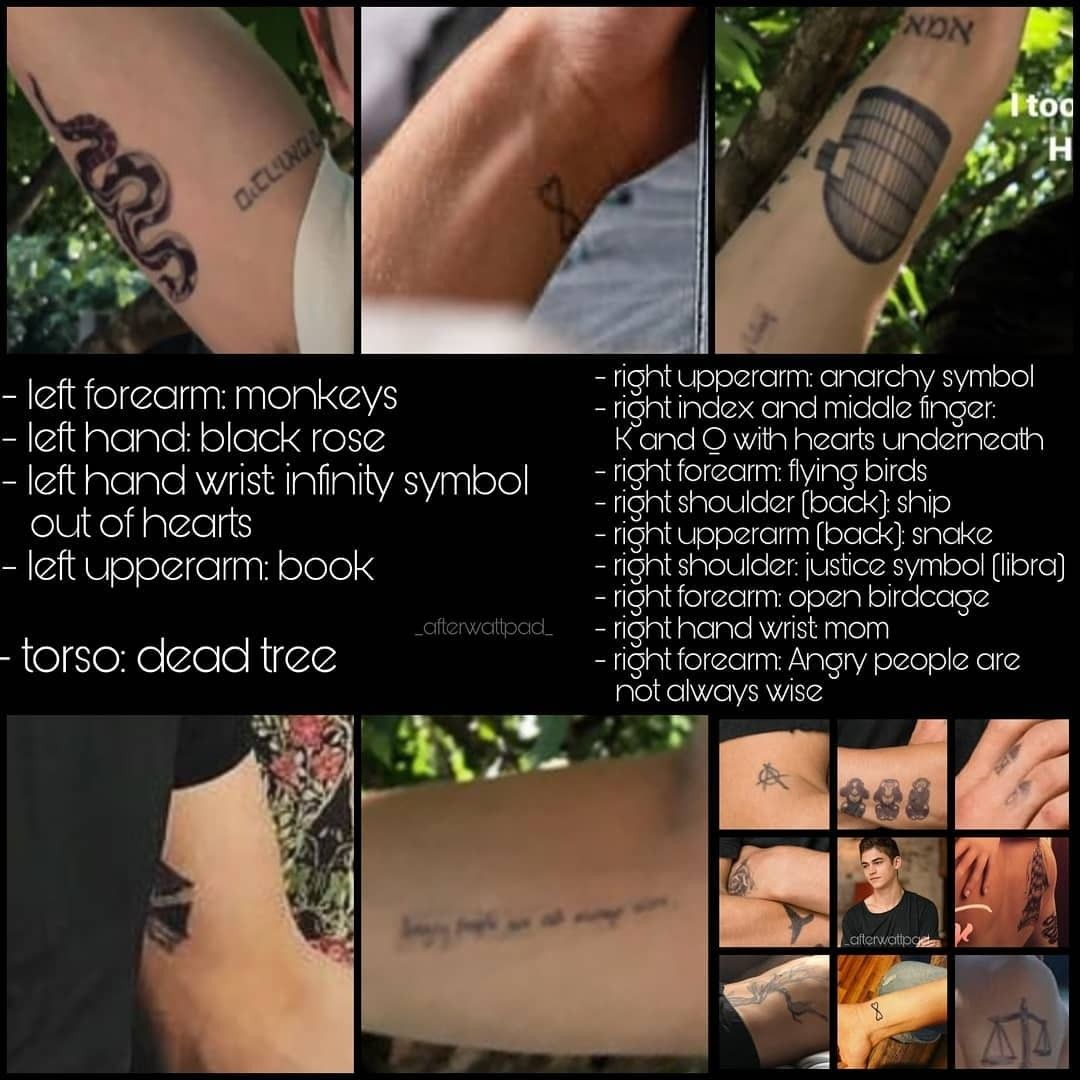 Hardin Scott Tattoos