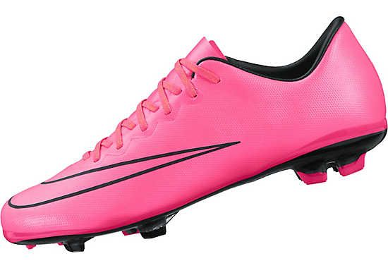 quality design 671f0 dcb96 Nike Kids Mercurial Vapor X FG Soccer Cleats - Pink and ...