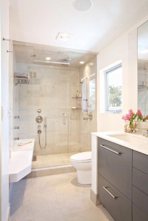 Best 66 Small Modern Master Bathroom Ideas In 2020 Bathroom 400 x 300