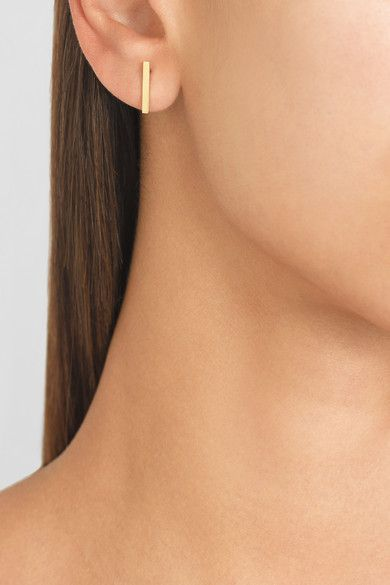 These Jennifer Meyer Earrings Are Kind Of Perfect For Every Day Plus They Could Dress Up