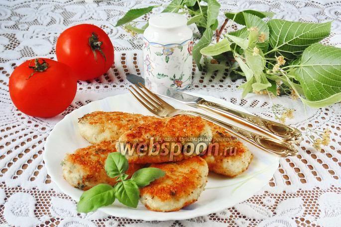 Фото Котлеты куриные с рисом