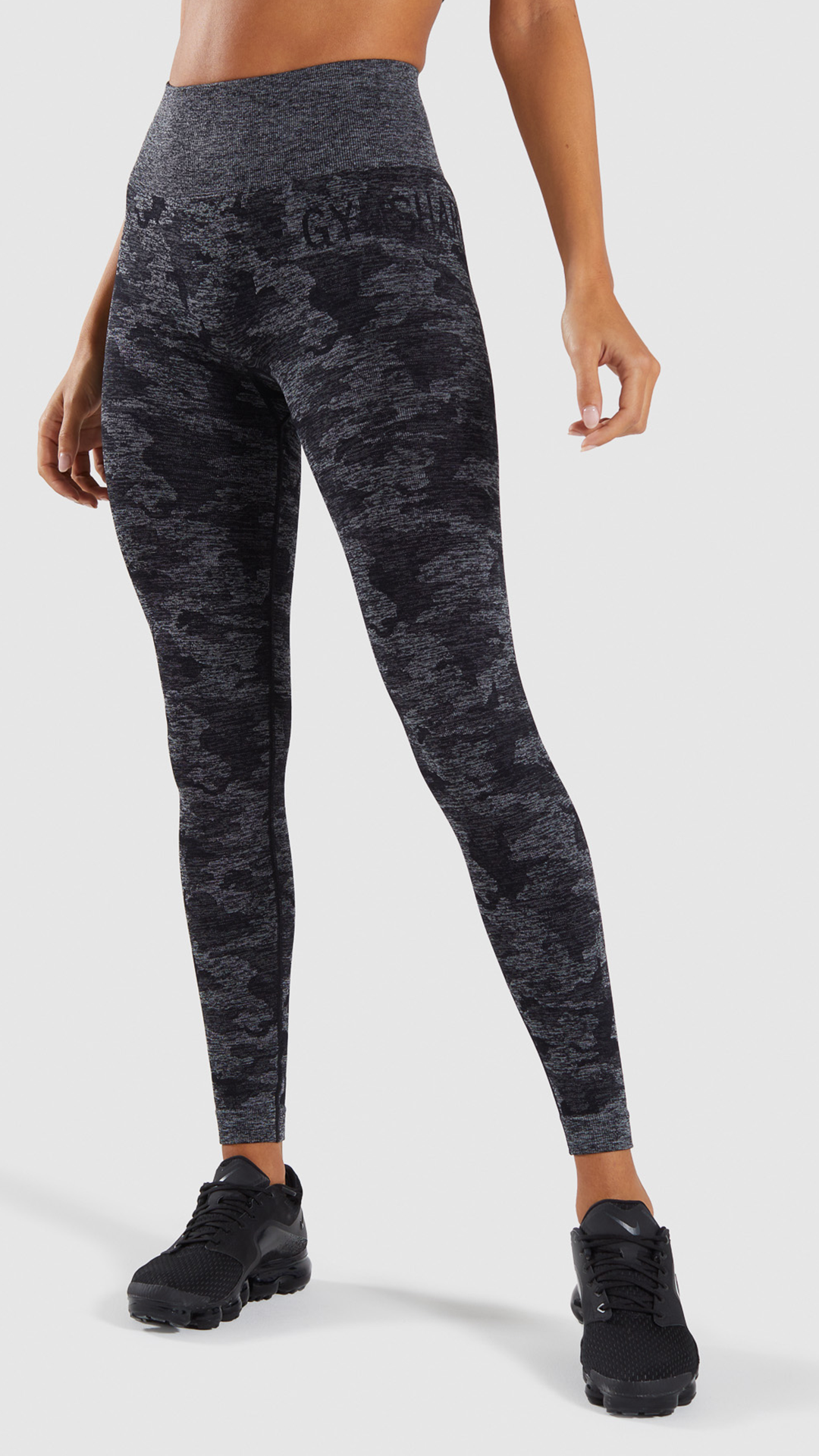 ea2acf03b5 The Camo Seamless Leggings, Black. #Gymshark #Gym #Sweat #Train #Perform  #Seamless #Exercise #Strength #Strong #Power #Fitness #OutfitInspiration ...