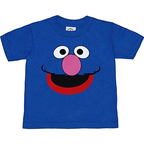 Sesame Street Grover Face Toddler T-Shirt http://www.beststreetstyle.com/sesame-street-grover-face-toddler-t-shirt-2/ #fashion  Sesame Street Grover Face Toddler T-Shirt Grover! Who can resist these cute Sesame Street character face toddler t-shirts? This shirt is all face...Grover's that is. Dress the whole family, with our Sesame Street charcter shirts for your next birthday party. This blue, standard fit toddler t-shirt is made of 100% cotton. Be sure to check out our Size Chart t..
