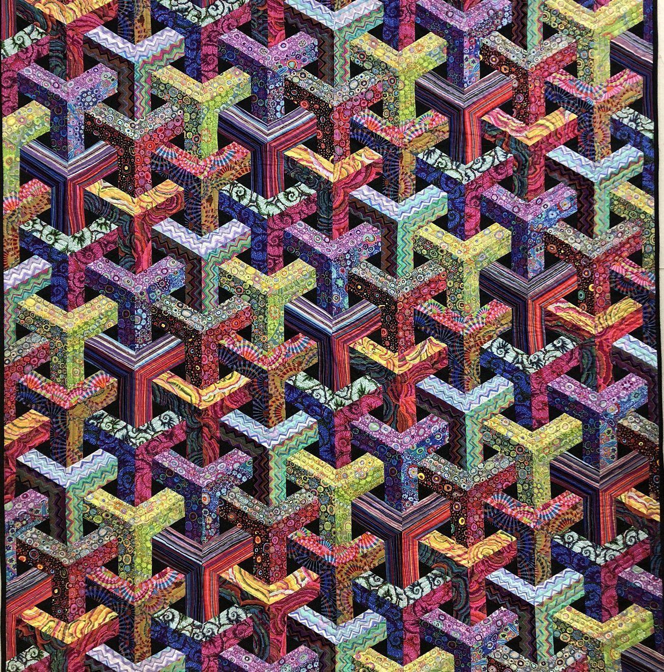 Escher Kaffe 57x62 Kit With Pattern And Fabric Quilt