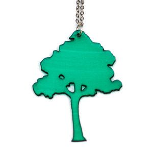 Tree Necklace Green now featured on Fab.