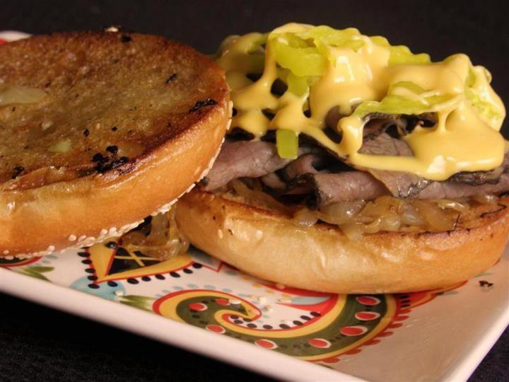 Cheezy Roast Beef Sandwiches