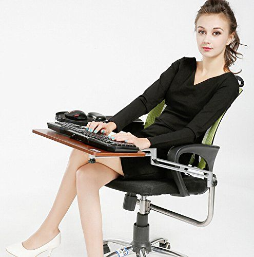 Skyzonal Ergonomic Chair Mount Keyboard Tray Mouse Tray Https Www Amazon Com Dp B01aa55vvw Ref Cm Sw Laptop Tray Desk With Keyboard Tray Computer Stand