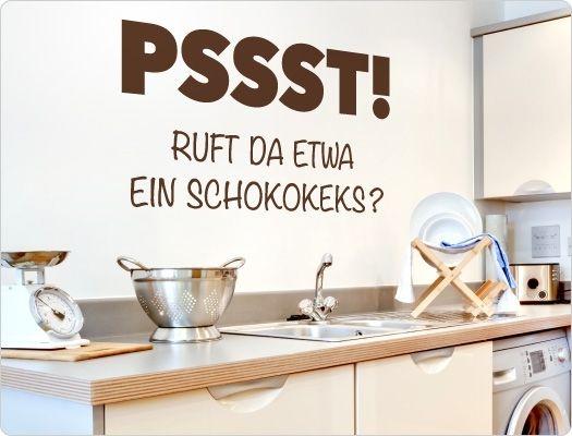 Wandtattoo Küche 11848 \