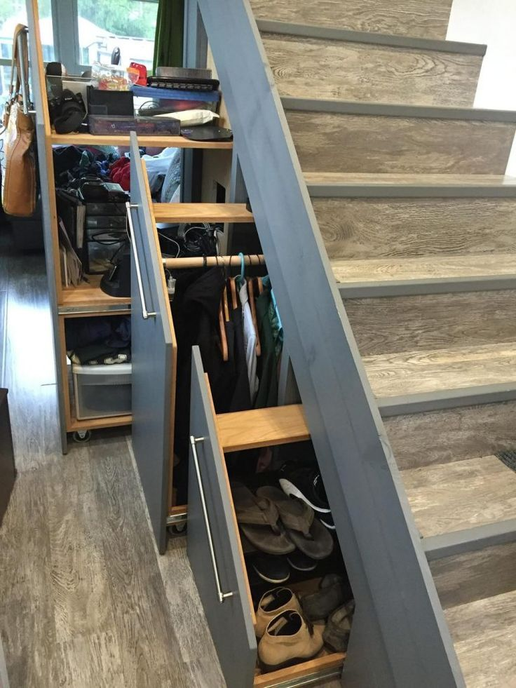 Tech Friendly and Contemporary/Modern Tiny House - A custom 303 square feet (including lofts) tiny house in Columbus, Ohio. #tinyhouses