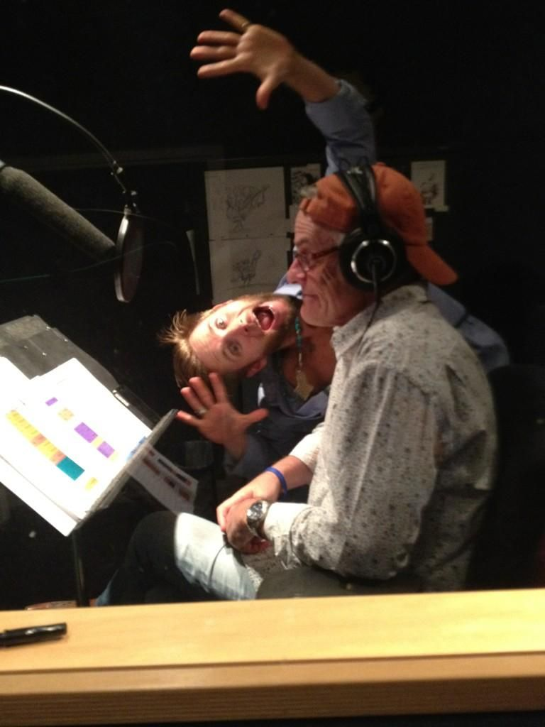 Greg Cipes Voice Of Michelangelo And Rob Paulsen Voice Of Donatello Tmnt Rob Paulsen Tmnt 2012