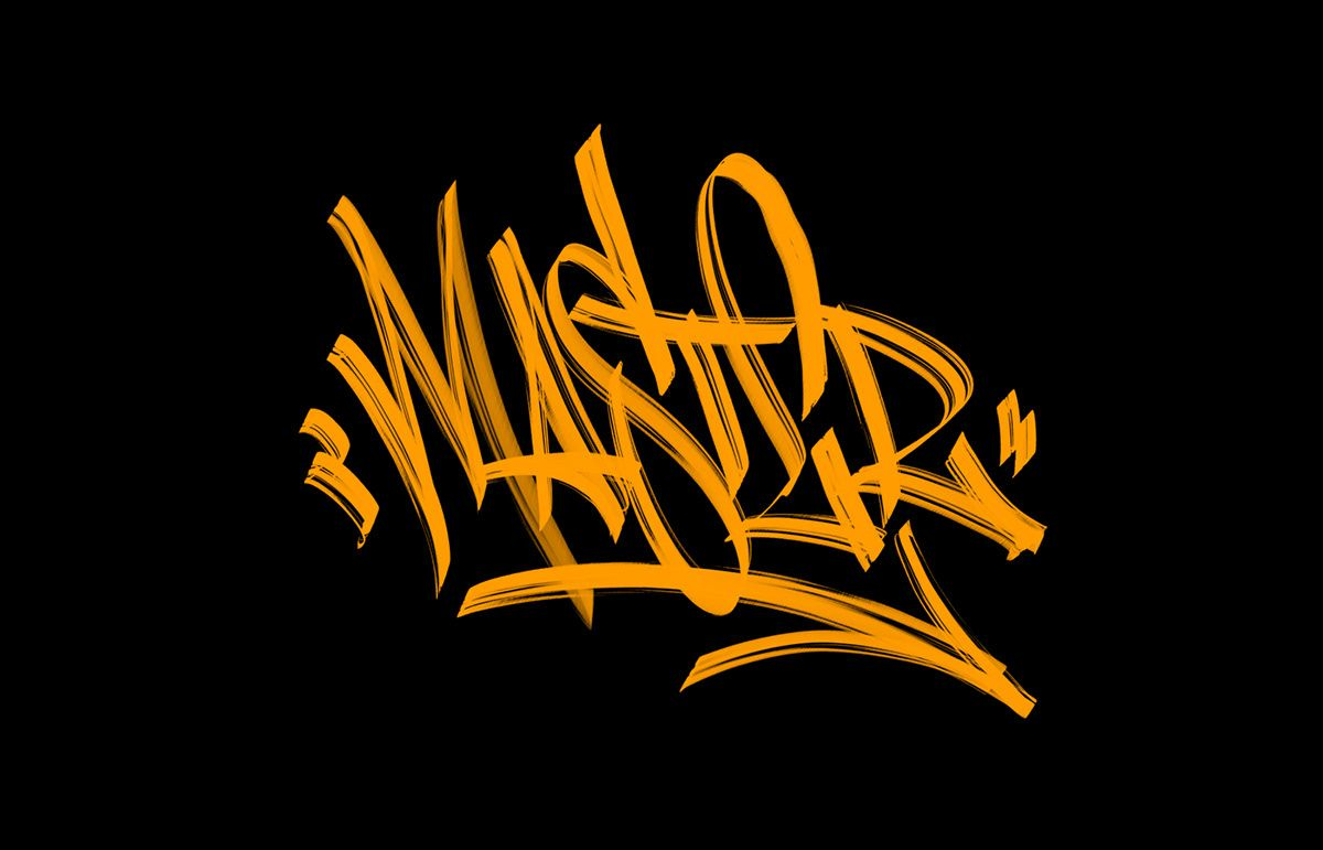 Download Graffiti procreate brush pack/iPad Pro Spray tags vol.4 on ...