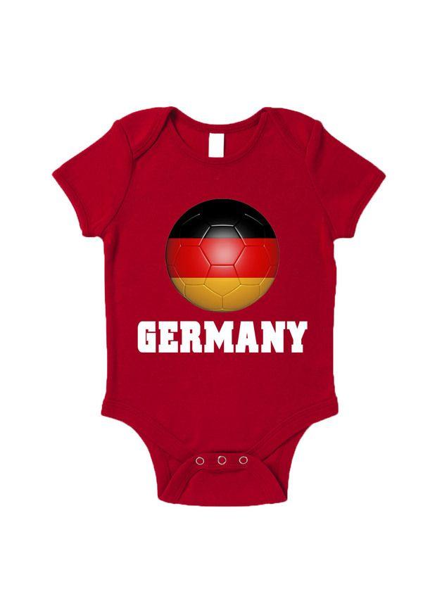 Bodys - Germany Road To World Cup Baby Grow Brazil 2014 In - ein Designerstück von BlueIvory bei DaWanda