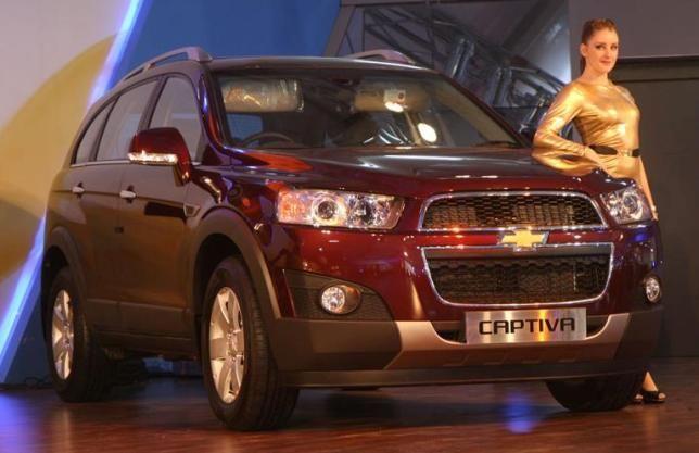 2012 Chevrolet Captiva Chevrolet Captiva Chevrolet News India