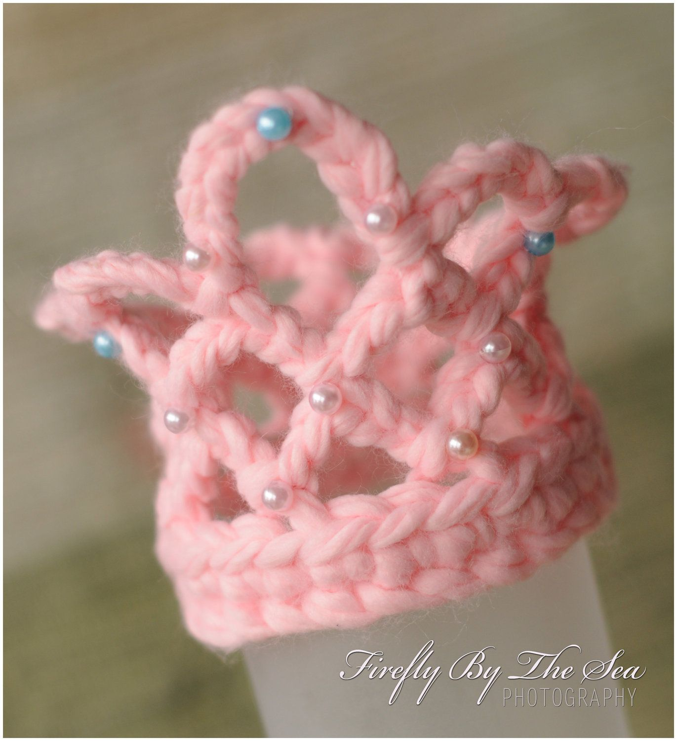 Baby Girl Princes Crown pink multicolored or by MimiLaCreations ...