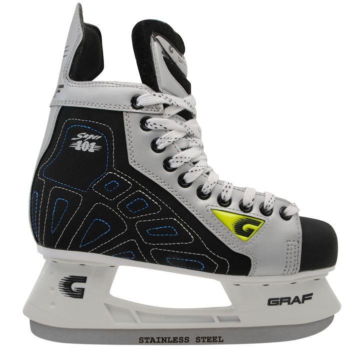Graf Super 101 Ice Hockey Skates Mens Now 59 99 Icehockey Hockey Converse Chuck Taylor High Top Sneaker Ice Hockey Converse High Top Sneaker