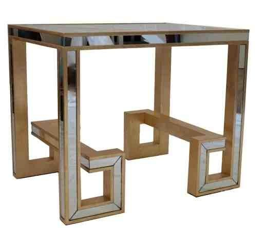 Greek Key Side Table Lamshop Need Two Of These For In Front Of
