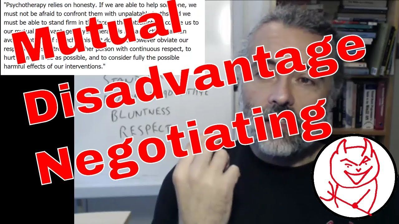 Negotiation in Software Testing to avoid Mutual Disadvantage - Let's Talk https://youtu.be/16rVxAKY8xI