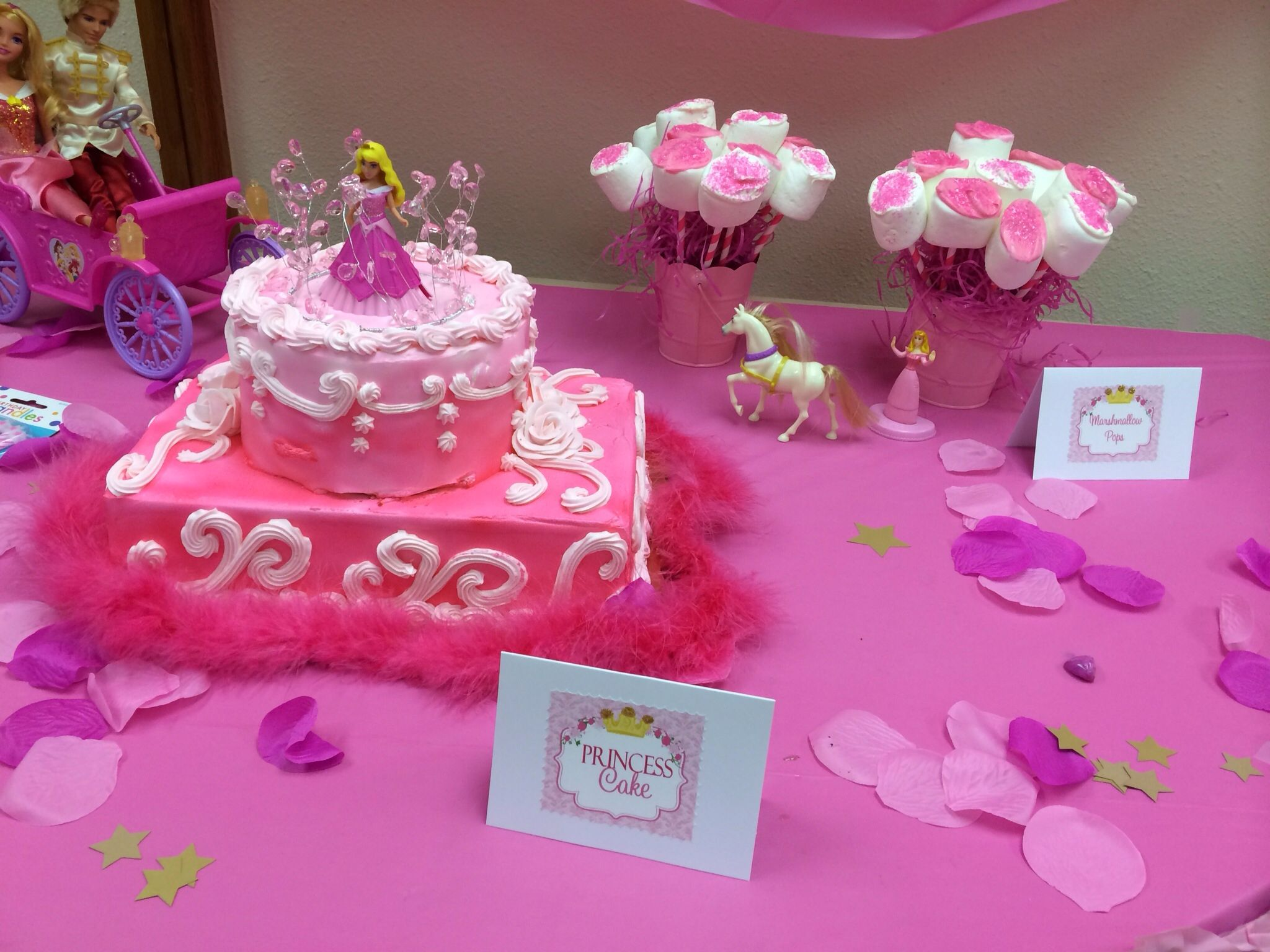 Princess Cake Publix Sweet Sixteen Done In Shades Of Pink