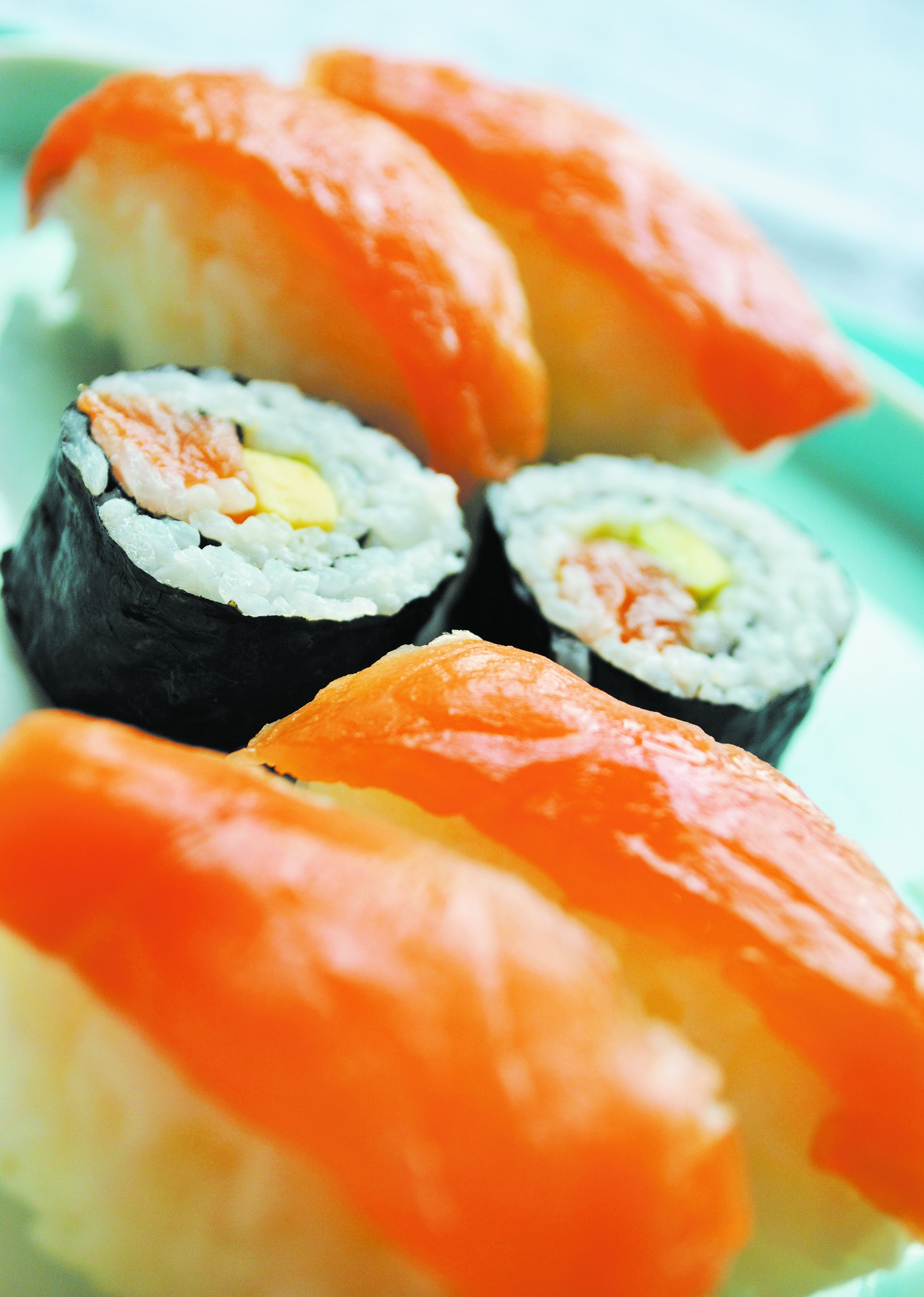 Simple Sushi from my gluten-free family recipe book called Can I Eat It?