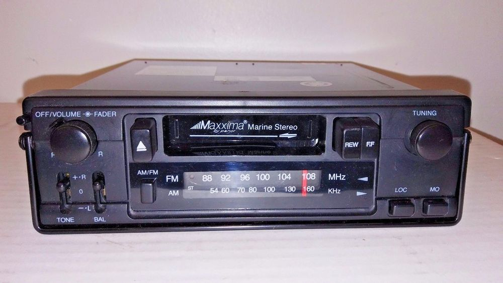 Maxxima By Panor Marine Stereo Radio Cassette Player CSC650MX