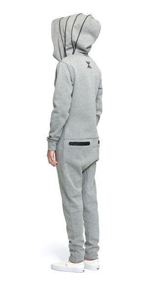 703eb9dea99 OnePiece Cocoon Jumpsuit Grey Melange