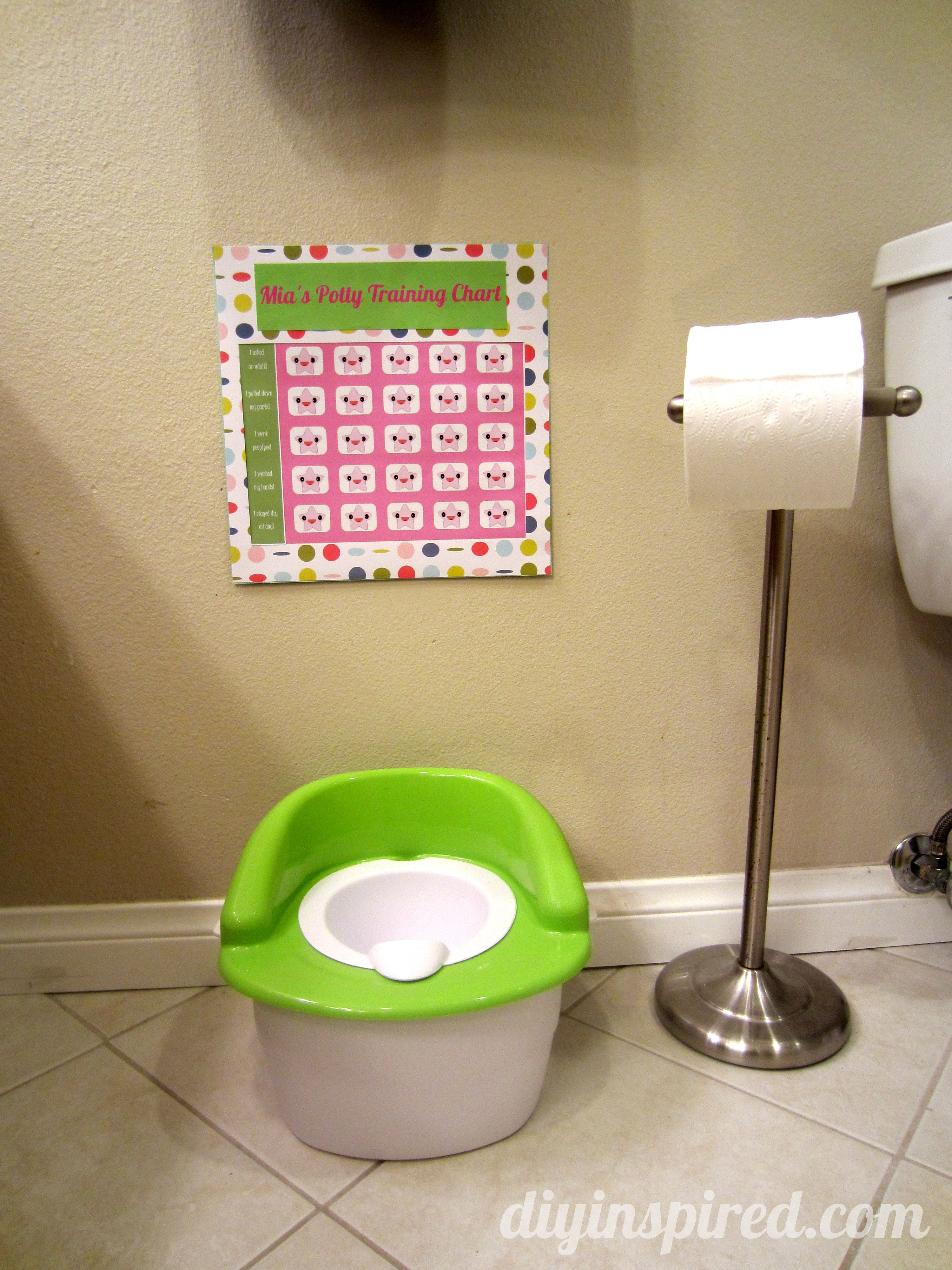 New Years Countdown Activity With Printable  Toilet Diapers And